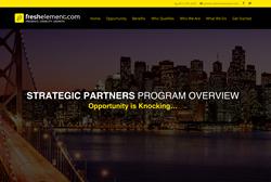 Fresh Element, Inc., Strategic Partners Program Overview
