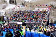 A crowd of spectators enjoys the excitement of the races (photo courtesy of Vail Valley Foundation).