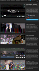 A new FCPX Plugin was Announced Today, ProStatic Volume 2 from Pixel...