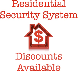 residential-security-system-discounts-available-red-home-outline-3d