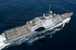 The littoral combat ship USS Freedom (LCS 1)