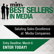 min's Best Sellers in Media Awards Now Accepting Entries, Entry...