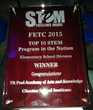 TPAAK Wins 2015 STEM Excellence Award