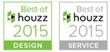 Best of Houzz badges 2015