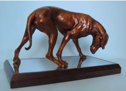 "Patsy Davis - Bronze, L19"" x H13""x W11"""