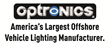 Optronics Logo, Optronics International logo, Optronics vehicle lighting logo