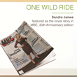 Sandra James Featured in MBE Magazine's 30th Anniversary Edition Cover...