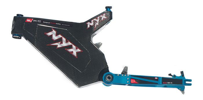 Nyx Bikes Announces First Carbon Fiber E Bike Frame Kit