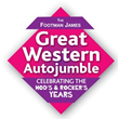 Great Western Autojumble Welcomes Footman James' Presence at 2015...