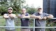 Third-generation owner of Palmetto Farms, David Dorman, and his sons, Devin and Andrew Dorman. (Right to Left)