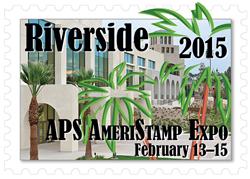 AmeriStampExpo stamp show logo.
