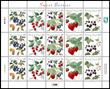 The Marshall Islands Sweet Berries stamps.
