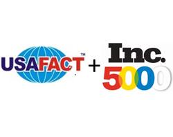 USAFact and Inc 5000