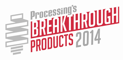 2014 Processing Breakthrough Award Logo