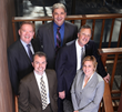 David Peters (top/middle) featured with the Partners of Peters & Freedman, L.L.P.