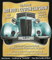 9th Annual Hot Rod & Custom Car Show in La Quinta California