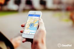 location based social media app
