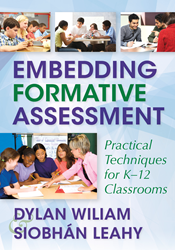 Embedding Formative Assessment: Practical Techniques for K–12 Classrooms