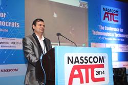 Abhishek Vinod Singh Speaking at NASSCOM ATC 2014