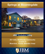 JBM® Institutional Multifamily Advisors Markets Springs at...