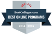 BestColleges.com Names the Best Online Colleges in America for 2015