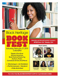 black heritage book fest, toledo ohio, black authors, toledo book festival