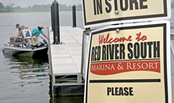 A photo of Red River South Marina