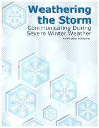 Learn best practices that will help your organization weather the next major winter storm.