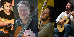 Guitarists Brian Gore, Andrew York, Diego Figueiredo and Maneli Jamal