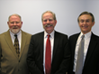 Bob Jones, Ph.D., President & CEO of Children's Aid and Family Services, Jerrold (Jerry) Binney and Bruce Brady, Chair, Board of Trustees, Children's Aid and Family Services.