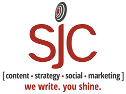 SJC We Write You Shine Content Strategy Social Marketing