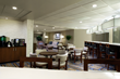 The Hilton Crystal City Executive Club Lounge