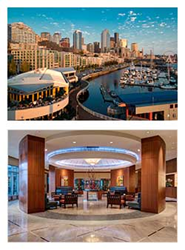 The Synergy 2015 venue is the Seattle Marriott Waterfront hotel.