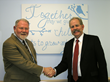 Bob Jones, Ph.D., President & CEO of Children's Aid and Family Services and Jerrold (Jerry) Binney.