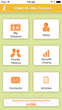 Child Health Tracker App Screen Shot