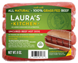 Laura's Kitchen 100% Grass Fed Beef Hot Dogs
