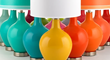 Color Plus Lighting Fixtures and Lamps with Custom Color Options