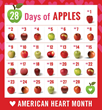 Keep Your Ticker Healthy with USApple Association's 28 Days of Apples...