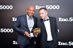 Keith & Andre West-Harrison at Inc. 5000 event
