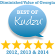 Diminished Value of Georgia Receives Top Rating