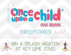 Once Upon A Child Oak Brook Sweepstakes - Win A Trip to Key Lime Cove