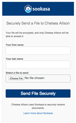Sookasa's secure receipt portal
