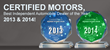 Certified Motors Recognized as Best Independent Automobile Dealership...