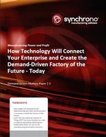 Demand-Driven White Paper: How Technology Will Connect Your Enterprise...