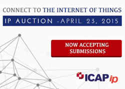 ICAP Patent Brokerage Internet Of Things Auction
