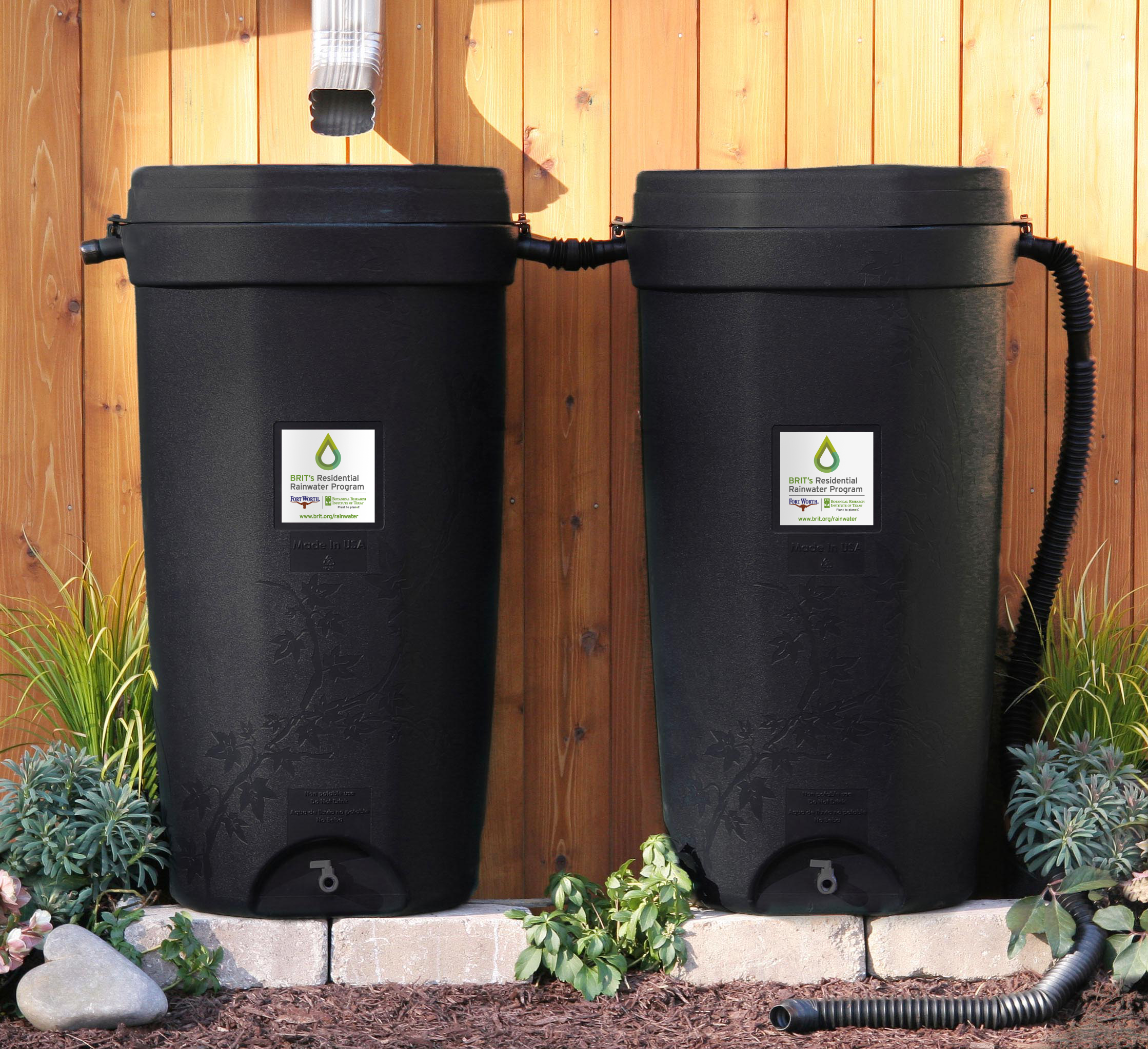 Brit 174 And The City Of Fort Worth Offer Rain Barrels And