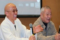 The legend master WuBin with Shaolin DeRu
