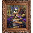 Washington, D.C. shoppers choose Claude Monet's 'Garden Path at Giverny' on overstockArt.com