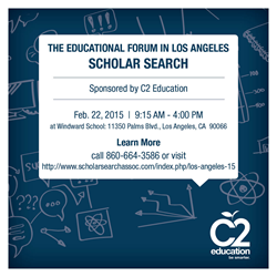 Scholar Seach at L.A. Educational Forum