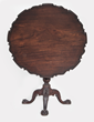"Newly Discovered ""Masterpiece"" Philadelphia Chippendale Tea Table,..."